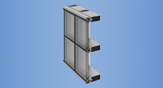 YHC 300 SSG Cassette - YKK AP Curtain Wall Products