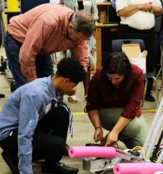 "YKK AP sponsors FIRST Robotics Team, ""The ThunderBotz,"" for third consecutive year"