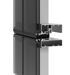 YKK AP EXPANDS UNITIZED OFFERING WITH NEW THERMALLY BROKEN CURTAIN WALL FOR EXCEPTIONAL PERFORMANCE AND DESIGN VERSATILITY
