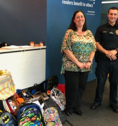 YKK AP Helps Cobb County Police Department Prepare Students for Upcoming School Year