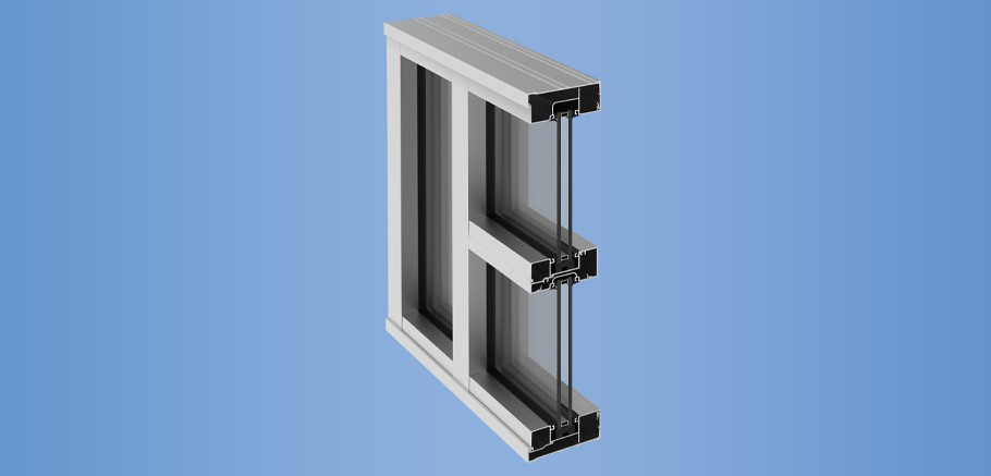 YES 45 CI - Center Set, Can Storefront System with Insulating Glass
