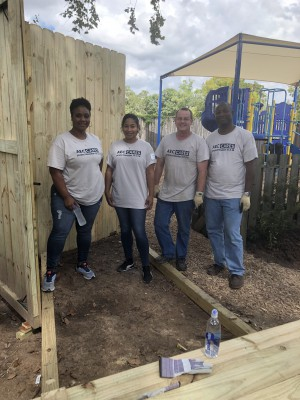 YKK AP Houston Lends a Hand to Renovate Local Women's Substance Abuse Treatment Center