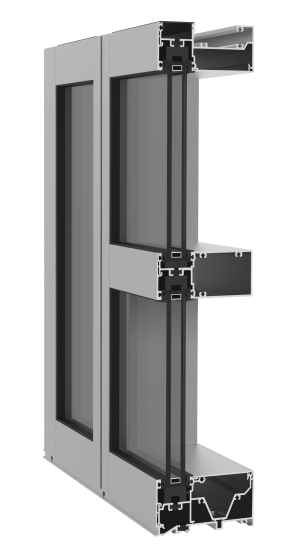 YWW 50 TU Captured Window Wall System