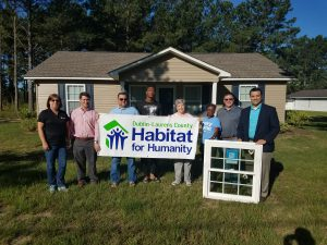 YKK AP Donates Windows to Habitat for Humanity in Dublin-Laurens County