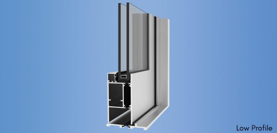YTD 350 T - Thermally Broken Architectural Terrace Door