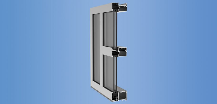 YWW 40 T - Thermally Broken Window Wall System