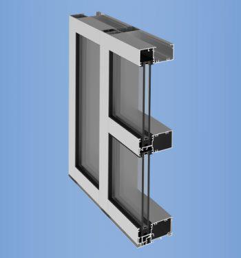 YWW 45 FI - High Performance Window Wall System