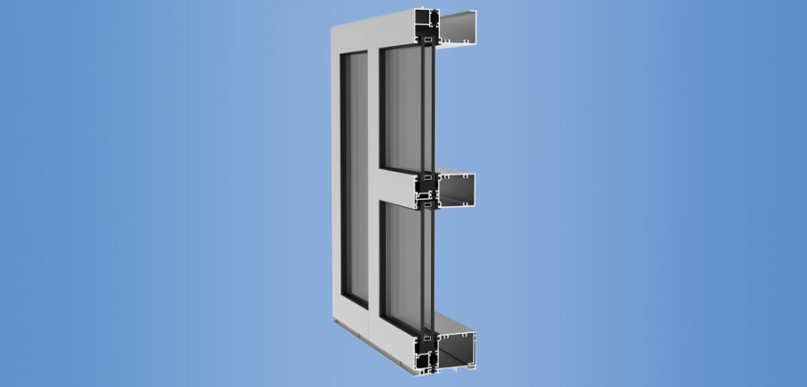 YWW 45 T - Thermally Broken Window Wall System