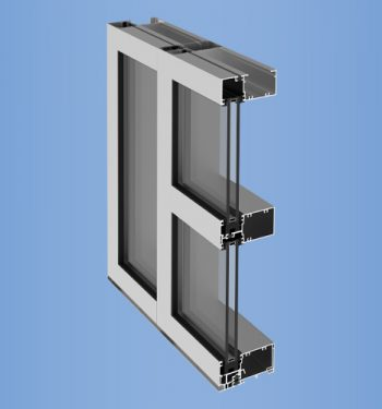 YWW 45 TU - Thermally Broken Window Wall System