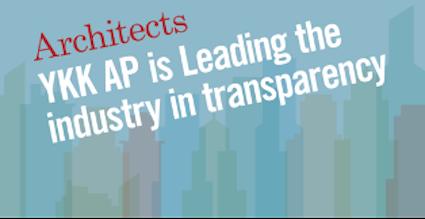 YKK AP Leads in Environmental Manufacturing Transparency