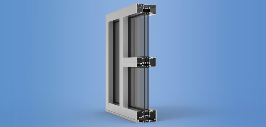 YES 45 XT - High Performance Storefront Featuring Dual Thermal Barriers