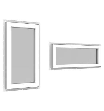 StyleView® Sidelite and Door Transom Windows