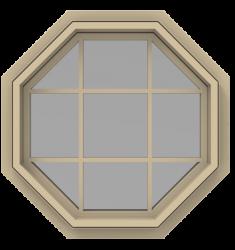 Design this StyleView® Contemporary (No Trim) Geometric Windows