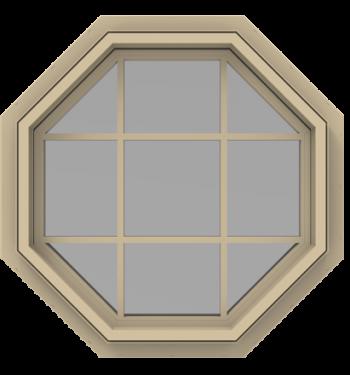StyleView® Contemporary (No Trim) Geometric Windows