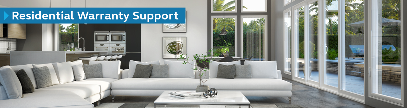 Residential Warranty Support