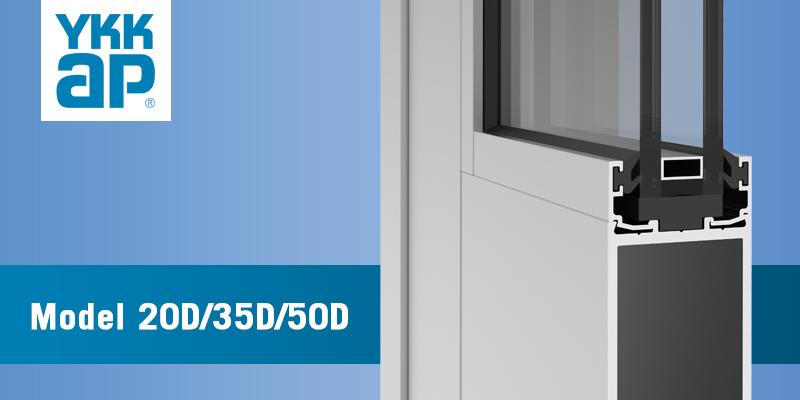 & 20D 35D 50D Doors | 08 41 13 - Entrances | YKK AP Product Guide