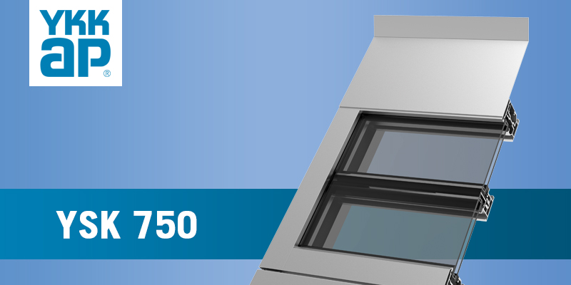 YSK 750 Sloped Glazing
